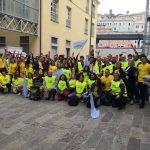 "Flash mob ""Say no to plastic"" per l'ambiente"
